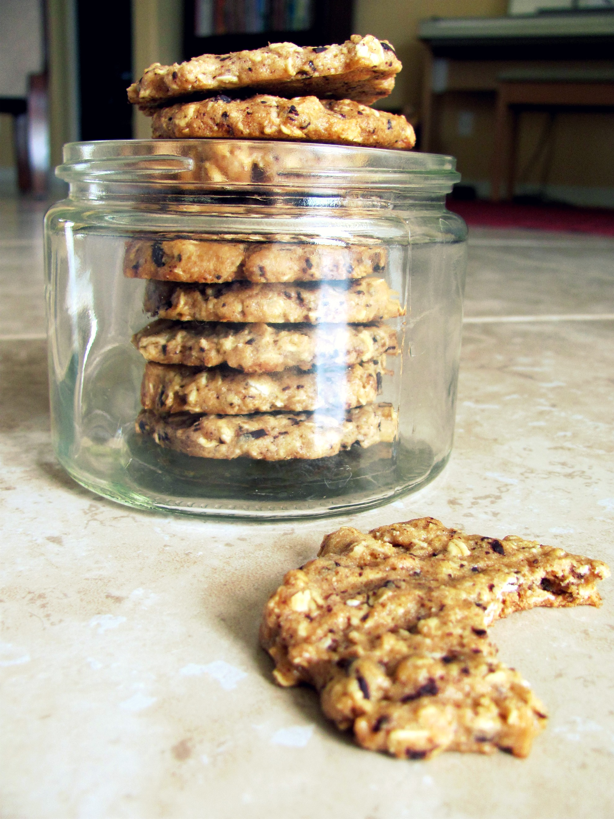Peanut Butter Oatmeal Cookies | Little Miss Healthify
